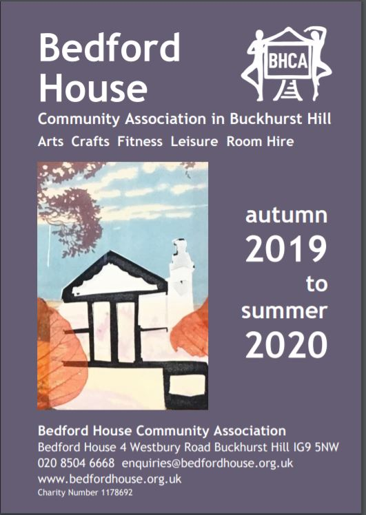 Bedford House Community Association in Buckhurst Hill Arts Crafts Fitness Leisure Room Hire